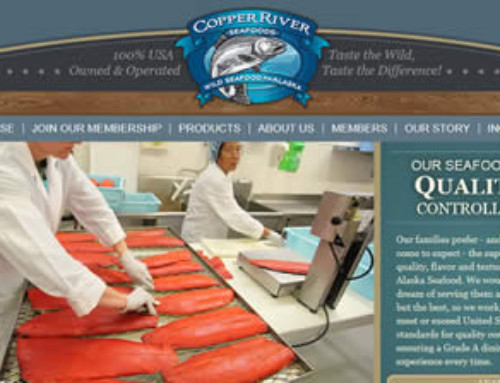 Copper River Seafoods Website