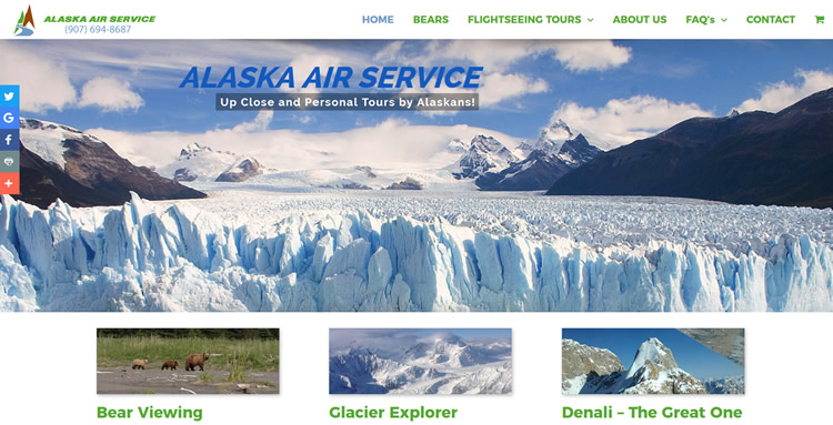Launched New Website – FlyAkAir.com